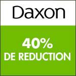 Daxon: -40% sur votre 2ème et 3ème article
