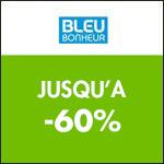 Bleu Bonheur : jusqu'à -60% sur la collection plage