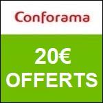 Conforama : 10€ offert en bon d'achat !