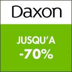 Daxon : Bonnes affaires jusqu'à -70% !
