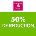 Françoise Saget : Remise jusqu'à -60% sur le Linge de Maison
