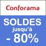 Conforama : SOLDES jusqu'à -80%
