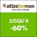 Atlas for Men en avant les Soldes ! :