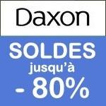 Daxon : soldes jusqu'à -75% !