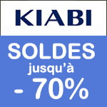 KIABI, -70% c'est vraiment la mode à petit prix !