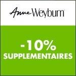 Anne Weyburn : code promo -10% supplémentaires