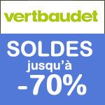 Vertbaudet : Soldes jusqu'à -70% !