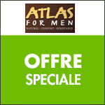 Atlas for Men : Sous-vêtements homme à partir de 6€90 !