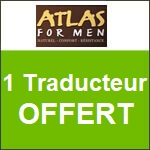 Atlas for Men : un traducteur vous est Offert !