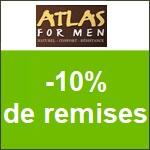 Atlas for Men : -10% offert sur votre commande !