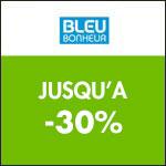 Bleu Bonheur : -30% sur votre article préféré !