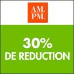 AM.PM : Jusqu'à -30% de remises avec les Homedays !
