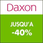 Daxon : jusqu'à -40% sur une sélection