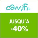 Camif : jusqu'à -20% sur les séjours !