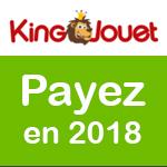 King Jouet: réglez vos achats de Noël en 2018