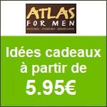 Atlas for Men : Idées cadeaux à partir de 5.95€