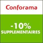 Conforama : bénéficiez de -10% supplémentaires !
