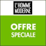 L'Homme Moderne : une oasis de réductions jusqu'à -50% !
