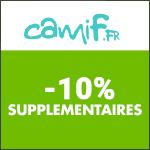 Camif : -10% supplémentaires sans minimum d'achats !