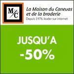 Maison du Canevas: jusqu'à -50% sur les ventes Théa Gouverneur