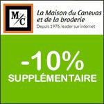 Maison du Canevas : -10% supplémentaires sur tout le site