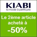 Kiabi : 2ème paire de chaussure à -50%