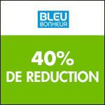 Bleu Bonheur : -40% sur TOUTE votre commande