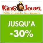 King Jouet : Destockage jusqu'à -30%