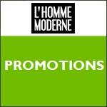 L'Homme Moderne : promotions sur de nombreux articles !