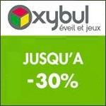 Oxybul Eveil & Jeux : Jusqu'à -30% de Remises !