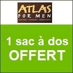 Atlas for Men : un sac à dos offert