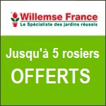 Willemse : jusqu'à 9 fruitiers offerts