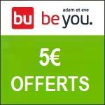 Adam et Eve : 5€ offerts pour toute inscription à la newsletter