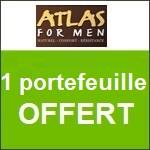 Atlas for Men : un portefeuille offert
