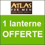 Atlas for Men : un lanterne offerte !