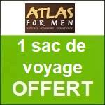 Atlas for Men : un sac de voyage offert !