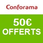 Conforama : 50€ offerts en bon d'achat !