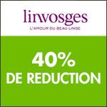 Linvosges : le linge unis est à -40% !