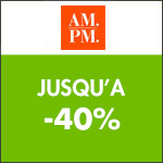 AM.PM : Les Instants Maison jusqu'à -30% !