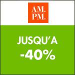 AM.PM : Les Home days jusqu'à -30% !
