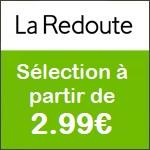La Redoute : sélection enfant à partir de 2,99€ !