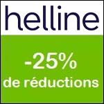 Helline : -25% sur votre article préféré !