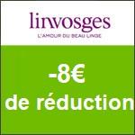 Linvosges : -8€ pour toute commande