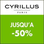 Cyrillus : journées privilèges jusqu'à -50%