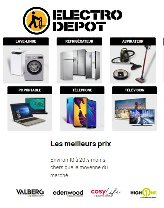 CATALOGUE ELECTRO DEPOT