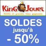KING JOUET, Soldes sur de nombreux articles