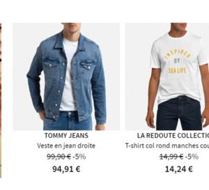 LA REDOUTE - VENTES FLASH JUSQU' A -50%