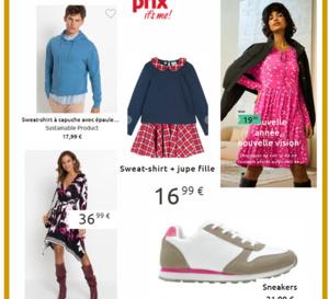BONPRIX - Petites robes légères à partir de 8€99
