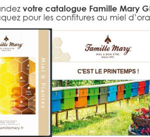 Famille Mary, votre catalogue au goût de miel vous parle de ses nouveaux produits !