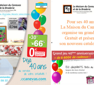 La Maison du Canevas : NOUVEAU CATALOGUE juin 2016 en avant-première sur catalogues.fr !